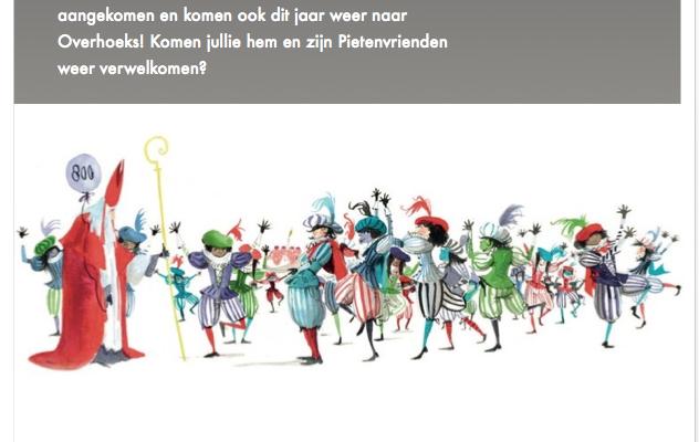 Sinterklaasfeest Overhoeks