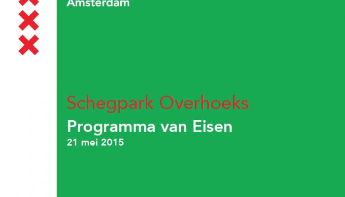 Programma van Eisen – Schegpark