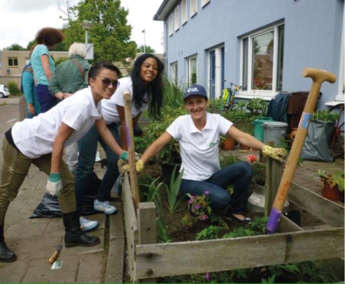 Sociaal tuinieren – Vrijwilligersproject NLDoet